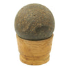 show larger image of product view 5 : Original U.S. Civl War Confederate States Borman 12lb Cannon Ball with Shot Dug Near Battle of Shiloh Site Original Items