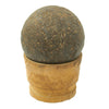show larger image of product view 6 : Original U.S. Civl War Confederate States Borman 12lb Cannon Ball with Shot Dug Near Battle of Shiloh Site Original Items