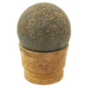 show larger image of product view 7 : Original U.S. Civl War Confederate States Borman 12lb Cannon Ball with Shot Dug Near Battle of Shiloh Site Original Items