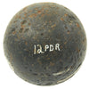show larger image of product view 2 : Original U.S. Civl War Borman 12lb Cannon Ball - Dug Near Battle of Kennesaw Mountain Site Original Items