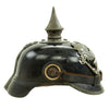 show larger image of product view 4 : Original German WWI Prussian M1915 Infantry EM/NCO Pickelhaube Spiked Helmet - Depot & Regt. Marked Original Items