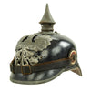 show larger image of product view 8 : Original German WWI Prussian M1915 Infantry EM/NCO Pickelhaube Spiked Helmet - Depot & Regt. Marked Original Items