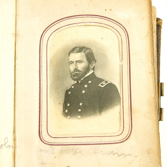 Original U.S. Civil War Federal Officer Family Photograph Album Original Items