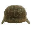 show larger image of product view 3 : Original German WWII Army Heer M42 Chicken Wire Steel Helmet - marked hkp66 Original Items