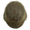 show larger image of product view 7 : Original German WWII Army Heer M42 Chicken Wire Steel Helmet - marked hkp66 Original Items
