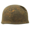 show larger image of product view 3 : Original German WWII Netherlands Battlefield Pickup Shot-through M38 Luftwaffe Fallschirmjäger Paratrooper Helmet Original Items
