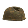 show larger image of product view 4 : Original German WWII Netherlands Battlefield Pickup Shot-through M38 Luftwaffe Fallschirmjäger Paratrooper Helmet Original Items
