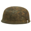 show larger image of product view 6 : Original German WWII Netherlands Battlefield Pickup Shot-through M38 Luftwaffe Fallschirmjäger Paratrooper Helmet Original Items