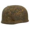 show larger image of product view 2 : Original German WWII Netherlands Battlefield Pickup Shot-through M38 Luftwaffe Fallschirmjäger Paratrooper Helmet Original Items