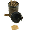 show larger image of product view 9 : Original Imperial German WWI M1917 Ledermaske Leather Gas Mask with Can & Filter - dated 1918 Original Items