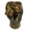 show larger image of product view 14 : Original Imperial German WWI M1917 Ledermaske Leather Gas Mask with Can & Filter - dated 1918 Original Items