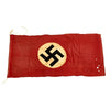 "show larger image of product view 1 : Original German WWII Service Worn NSDAP National Flag Small Political Banner - 29"" x 63"" Original Items"