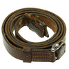 show larger image of product view 1 : Original German WWII Karabiner 98 kurz K98k Leather Sling in Very Good Condition - Kar98k Original Items
