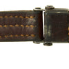show larger image of product view 6 : Original German WWII Karabiner 98 kurz K98k Leather Sling in Very Good Condition - Kar98k Original Items