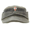 show larger image of product view 1 : Original German WWII Hitler Youth M43 Feldmütze Field Cap in size 58 - dated 1944 Original Items