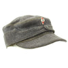 show larger image of product view 7 : Original German WWII Hitler Youth M43 Feldmütze Field Cap in size 58 - dated 1944 Original Items