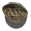 show larger image of product view 8 : Original German WWII Hitler Youth M43 Feldmütze Field Cap in size 58 - dated 1944 Original Items