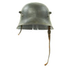 show larger image of product view 3 : Original German WWII Reissued M18 Army Heer Single Decal Steel Helmet with 55cm Liner - marked B.F 64. Original Items