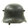 show larger image of product view 5 : Original German WWII Reissued M18 Army Heer Single Decal Steel Helmet with 55cm Liner - marked B.F 64. Original Items