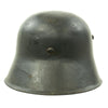 show larger image of product view 8 : Original German WWII Reissued M18 Army Heer Single Decal Steel Helmet with 55cm Liner - marked B.F 64. Original Items