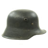 show larger image of product view 2 : Original German WWII Reissued M18 Army Heer Single Decal Steel Helmet with 55cm Liner - marked B.F 64. Original Items