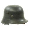show larger image of product view 9 : Original German WWII Reissued M18 Army Heer Single Decal Steel Helmet with 55cm Liner - marked B.F 64. Original Items