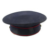 show larger image of product view 8 : Original U.S. WWII Marine Dress Blue Uniform Visor Cap - Dated 1933 Original Items