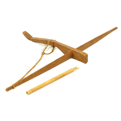 "Original Vietnam War ""Montagnard"" Degar People Crossbow with Bolts - USGI Bring Back Original Items"