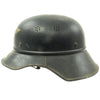 show larger image of product view 5 : Original German WWII M38 Luftschutz Beaded Gladiator Air Defense Helmet - marked & dated 1940 Original Items