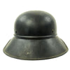 show larger image of product view 6 : Original German WWII M38 Luftschutz Beaded Gladiator Air Defense Helmet - marked & dated 1940 Original Items