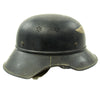 show larger image of product view 7 : Original German WWII M38 Luftschutz Beaded Gladiator Air Defense Helmet - marked & dated 1940 Original Items