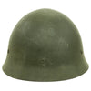 show larger image of product view 4 : Original Japanese WWII Type 92 Army Combat Helmet Period Repainted Green & dated 1942 - Tetsubo Original Items