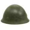 show larger image of product view 5 : Original Japanese WWII Type 92 Army Combat Helmet Period Repainted Green & dated 1942 - Tetsubo Original Items