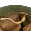 show larger image of product view 10 : Original Japanese WWII Type 92 Army Combat Helmet Period Repainted Green & dated 1942 - Tetsubo Original Items