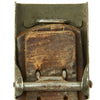 show larger image of product view 7 : Original German WWII Wehrmacht Army Heer Leather Belt with Steel Buckle by Hermann Aurich - dated 1941 Original Items