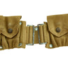 show larger image of product view 8 : Original U.S. WWI M1910 Rimless Eagle Snap Dismounted Rifle Cartridge Belt by MILLS Original Items