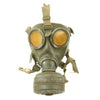 show larger image of product view 2 : Original German WWII Named M38 Gas Mask in Size 2 with Filter, Can, & Accessories - dated 1940 Original Items