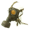 show larger image of product view 5 : Original German WWII Named M38 Gas Mask in Size 2 with Filter, Can, & Accessories - dated 1940 Original Items