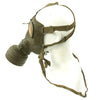 show larger image of product view 3 : Original German WWII Named M38 Gas Mask in Size 2 with Filter, Can, & Accessories - dated 1940 Original Items