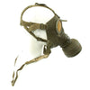 show larger image of product view 4 : Original German WWII Named M38 Gas Mask in Size 2 with Filter, Can, & Accessories - dated 1940 Original Items