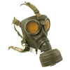 show larger image of product view 15 : Original German WWII Named M38 Gas Mask in Size 2 with Filter, Can, & Accessories - dated 1940 Original Items