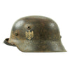 show larger image of product view 1 : Original German WWII M42 Service Worn Single Decal Army Heer Helmet with 56cm Liner - ET64 Original Items