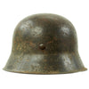 show larger image of product view 6 : Original German WWII M42 Service Worn Single Decal Army Heer Helmet with 56cm Liner - ET64 Original Items