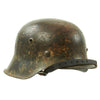 show larger image of product view 7 : Original German WWII M42 Service Worn Single Decal Army Heer Helmet with 56cm Liner - ET64 Original Items