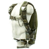 show larger image of product view 1 : Original U.S. Cold War Back Pack Style Parachute and Harness with Canopy Original Items