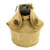 show larger image of product view 2 : Original U.S. WWII Canteen and Cup in 2nd Pattern USMC Canvas Carrier Original Items
