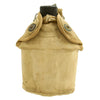 show larger image of product view 4 : Original U.S. WWII Canteen and Cup in 2nd Pattern USMC Canvas Carrier Original Items