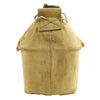 show larger image of product view 6 : Original U.S. WWII Canteen and Cup in 2nd Pattern USMC Canvas Carrier Original Items