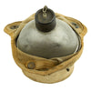 show larger image of product view 3 : Original U.S. WWII Canteen and Cup in 2nd Pattern USMC Canvas Carrier Original Items