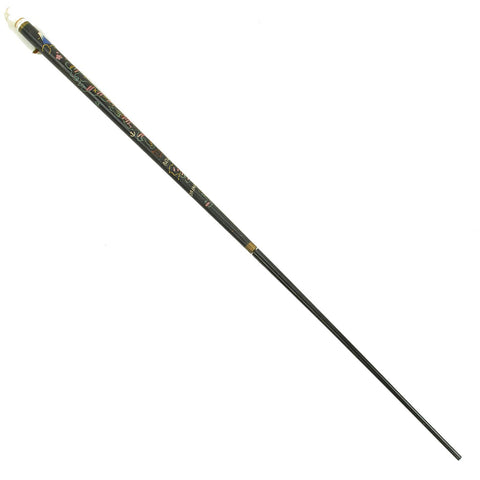 Original U.S. Post Korean War Era Japanese Souvenir Walking Stick & Nested Pool Cue Original Items